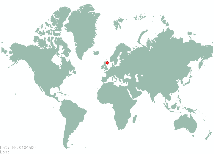 Perm in world map